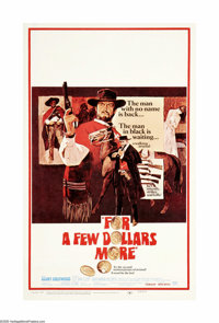 "For a Few Dollars More (United Artists, 1967). Window Card (14"" X 22""). Offered here is an original poster for..."