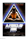 "Movie Posters:Action, Force of One, A (American Cinema, 1978). One Sheet (27"" X 41""). In this early Chuck Norris feature he plays, you guessed it,..."