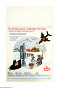 "Movie Posters:Thriller, Ice Station Zebra (MGM, 1969). Window Card (14"" X 22""). Offered here is an original poster for this action/thriller directed..."