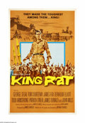 "Movie Posters:War, King Rat (Columbia, 1965). One Sheet (27"" X 41""). Offered here isan original poster from this war drama starring George Seg..."