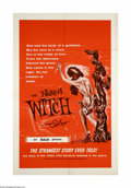 "Movie Posters:Horror, The Naked Witch (Alexander Enterprises, 1964). One Sheet (27"" X 41""). Offered here is an original poster for this horror fil..."