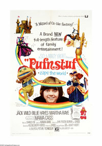 """Pufnstuf (Universal, 1970). One Sheet (27"""" X 41""""). Offered here is an original poster for this musical fantasy..."""