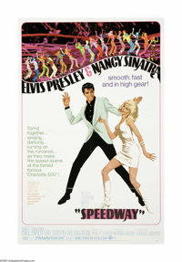 """Speedway (MGM, 1968). One Sheet (27"""" X 41""""). Offered here is an original poster for this action musical direct..."""