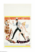 """Movie Posters:Musical, Speedway (MGM, 1968). Window Card (14"""" X 22""""). Offered here is an original poster for this action musical directed by Norman..."""