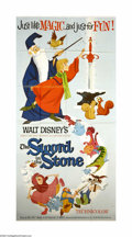 "Movie Posters:Action, The Sword in the Stone (Buena Vista, 1963). Three Sheet (41"" X81""). Offered here is an original poster from this animated f..."