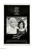 "Movie Posters:Academy Award Winner, Terms of Endearment (Paramount, 1983). One Sheet (27"" X 41"").Offered here is an original poster for this comedy/drama direc..."
