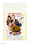 """Movie Posters:Drama, A Time to Sing (MGM, 1968). Window Card (14"""" X 22""""). Offered here is an original poster for this musical drama starring Hank..."""