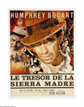 """Movie Posters:Drama, The Treasure of the Sierra Madre (Warner Brothers, R-1952). French Poster (22.5"""" X 30.5""""). Humphrey Bogart received an Oscar..."""