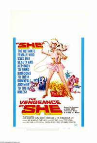 """The Vengeance of She (20th Century Fox, 1968). Window Card (14"""" X 22""""). Offered here is an original poster for..."""