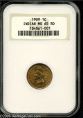 Indian Cents: , 1909 1C MS65 Red NGC. ...