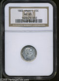 Coins of Hawaii: , 1883 10C Hawaii Ten Cents MS63 NGC. ...