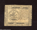 Colonial Notes:Continental Congress Issues, Continental Currency May 10, 1775 $5 Fine. This $5 is from thefirst issue of Continental Currency....