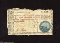 Colonial Notes:Georgia, Georgia 1777 $5 Very Good. This scarce Blue Seal Georgia Cannon note has rough edges, but the note is bright and the design ...