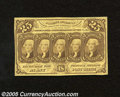 Fractional Currency:First Issue, Fr. 1281 25c First Issue Choice About Uncirculated+++. A wonderful note for the grade that is a dead ringer for Choice New e...
