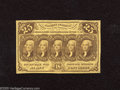 Fractional Currency:First Issue, Fr. 1281 25c First Issue Very Fine-Extremely Fine. This with monogram note just delivers honest wear while retaining pleasin...