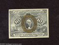 Fractional Currency:Second Issue, Fr. 1244 10c Second Issue Gem Crisp Uncirculated. A broadly margined and well embossed gem example of this second issue type...