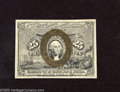 Fractional Currency:Second Issue, Fr. 1286 25c with Gutter Fold Error Second Issue Very Choice Crisp Uncirculated. This is a splendid note that is a gem in vi...