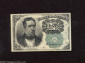 Fractional Currency:Fifth Issue, Fr. 1264 10c Fifth Issue Extremely Fine-About Uncirculated. ThisGreen Seal Meredith note has a center fold plus a couple co...