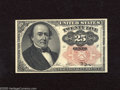 Fractional Currency:Fifth Issue, Fr. 1308 25c Fifth Issue Crisp Uncirculated. This Long Key varietynote has a couple counting pinches near the portrait....