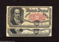 Fractional Currency:Fifth Issue, Fr. 1380 50c Fifth Issue Two Examples Very Fine. These notes stilloffer much snap with no major problems. ... (2 notes)