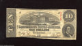 Confederate Notes:1863 Issues, T59 $10 1863. Some light foxing and a tight bottom margin do nothinder the overall print quality on this $10. Fine....