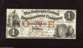 Obsoletes By State:Iowa, Dubuque, IA- The Dubuque Central Improvement Company $1 Jan. 15th1858. This is a note that holds the individual stockholde...