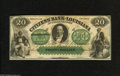 Obsoletes By State:Louisiana, Shreveport, LA- Citizens' Bank of Louisiana $20 18__. This remainder note displays a pair of very patriotic vignettes. Cho...