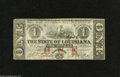 Obsoletes By State:Louisiana, Baton Rouge, LA- State of Louisiana $1 February 24, 1862 This is the variety that is printed on the back of unissued notes ...