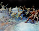 Frank Frazetta Leaping Lizards Signed Limited Edition Print #PP XI/XV (undated)