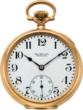 Timepieces:Pocket (post 1900), Ball, Waltham Official RR Standard 14k Gold Ball Case, 16 ...