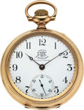 Timepieces:Pocket (pre 1900) , Ball, Hamilton Official B of RT Standard. ...