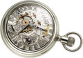 Timepieces:Pocket (pre 1900) , Chicago Horological Institute Rare Transitional Model By H.B. Kuhn,1890. ...