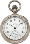 "Timepieces:Pocket (pre 1900) , Ball Hampden ""Ball's Standard"" Coin Silver Case, Invisible..."