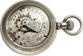 Timepieces:Pocket (pre 1900) , Independent Maker H.E. Allen, Morenci Mich. 18 Size, Feb. ...