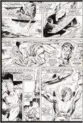 Original Comic Art:Panel Pages, Gil Kane and Tom Sutton Warlock #4 Page 2 Original Art(Marvel, 1973)....