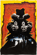 Original Comic Art:Covers, Tim Sale El Diablo #4 Original Cover Art (DC, 2001)....