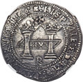 "Mexico, Mexico: Charles and Johanna ""Early Series"" Rincón 8 Reales ND (c.1538) •M•-•M• AU50 NGC,..."