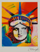 Peter Max (American, b. 1937) Liberty Head Lithograph on colors on paper 13-1/2 x 11 inches (34.3 x 27.9 cm) (image)...