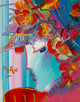 Peter Max (American, b. 1937) Blushing Beauty, 1989 Acrylic on canvas 30 x 24 inches (76.2 x 61.0 cm) Signed lower l