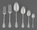 Silver & Vertu:Flatware, A Fifty-Nine Piece Shiebler and John Polhamus Corinthian Pattern Silver Flatware Group, circa 1868 and later. Ma... (Total: 59 Items)