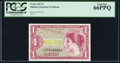 Military Payment Certificates:Series 641, Series 641 $1 PCGS Gem New 66PPQ.. ...