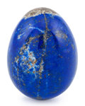 Lapidary Art:Eggs and Spheres, Lapis Egg. Afghanistan. 2.89 x 2.16 inches (7.33 x 5.49 cm)....