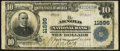 National Bank Notes, Arnold, PA - $10 1902 Plain Back Fr. 633 The Arnold NB Ch. # 11896. ...