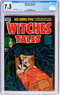 Golden Age (1938-1955):Horror, Witches Tales #2 (Harvey, 1951) CGC VF- 7.5 Cream to off-whitepages....