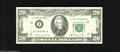 Error Notes:Skewed Reverse Printing, Fr. 2074-J $20 1981A Federal Reserve Note. Extremely Fine. The faceis well centered on this KC $20 that shows a half inch p...