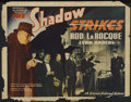 """Movie Posters:Mystery, The Shadow Strikes (Grand National, 1937). Half Sheet (22"""" X 28"""")Style B. Mystery...."""