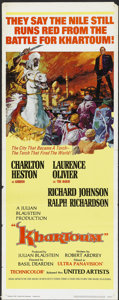"Movie Posters:Adventure, Khartoum (United Artists, 1966). Insert (14"" X 36""). Adventure...."