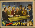 "Movie Posters:Crime, Night Key (Universal, 1937). Lobby Card (11"" X 14""). Crime...."