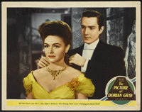 """The Picture of Dorian Gray (MGM, 1945). Lobby Card (11"""" X 14""""). Horror"""