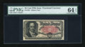 Fractional Currency:Fifth Issue, Fr. 1381 50c Fifth Issue PMG Choice Uncirculated 64 EPQ....